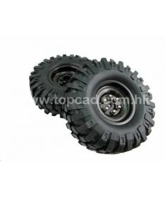 1.9 High Mass Wheel & Tire set Black
