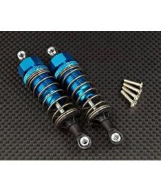 CC-01 Alloy Rear Adjustable Damper 70mm x2 CC070R silver