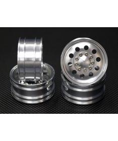 CC-01 Alloy Front & Rear Wheel (10 Holes) x4 Silver AW1010F+R