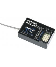 Futaba R2104GF 2.4G S-FHSS 4Ch Rx 4PL