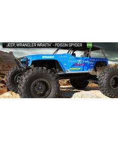 Axial Jeep Wrangler Wraith - Poison Spyder RTR