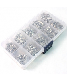 Stainless Steel Screw Assorted Set (400pcs) with FREE Mini box