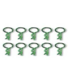 short body clip-middle head (Green)