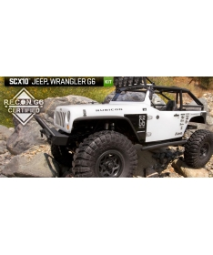SCX10 Jeep Wrangler G6 1/10th Scale Electric 4WD - Kit