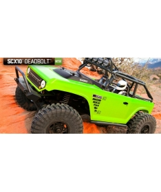 SCX10™ Deadbolt™ 1/10th Scale Electric 4WD - RTR