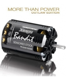 "Hobbywing XERUN ""Bandit"" Brushless Motor - Outlaw Edition 13.5T Black"