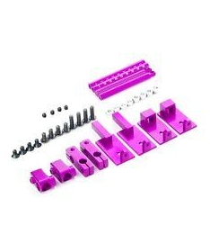 Invisible Magnetic Stealth Mounts for 1:10 scale (PINK)