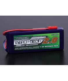Turnigy nano-tech 2000mAh 2S1P 20~40C Lipo Receiver Pack