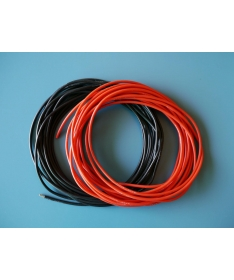 Pure-Silicone Wire 12AWG Black