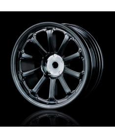 MST 77SV +5mm offset wheels 102027SBK