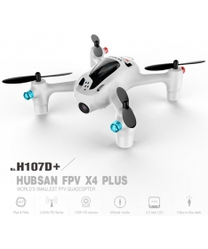 Hubsan FPV X4 Plus H107D+ With 2MP Wide Angle HD Camera Altitude Hold Mode RC Quadcopter