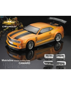 Matrixline PC201019 Chevrolet Camaro clear body