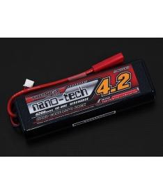 Turnigy nano-tech 4200mah 2S2P 40~80C Hardcase Lipo Stick Pack