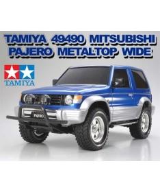 Tamiya 1:10 Mitsubishi Pajero Metaltop Wide