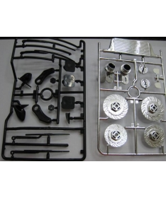 Brake disc & Accesories set for 1:10 cars