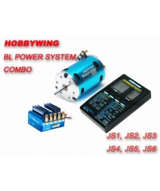 JUSTOCK SPEC Race (Zero Timing) Brushless 45A + 17.5T motor +led program card